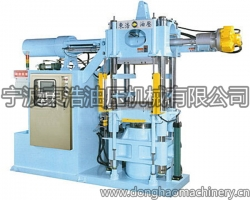 Automatic rubber injection molding machine - W type
