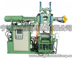Silicone injection machine (new green) no cylinder